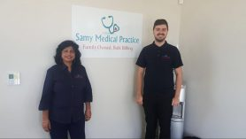 Reece Cleaver & Matilda from Samy Medical Centre