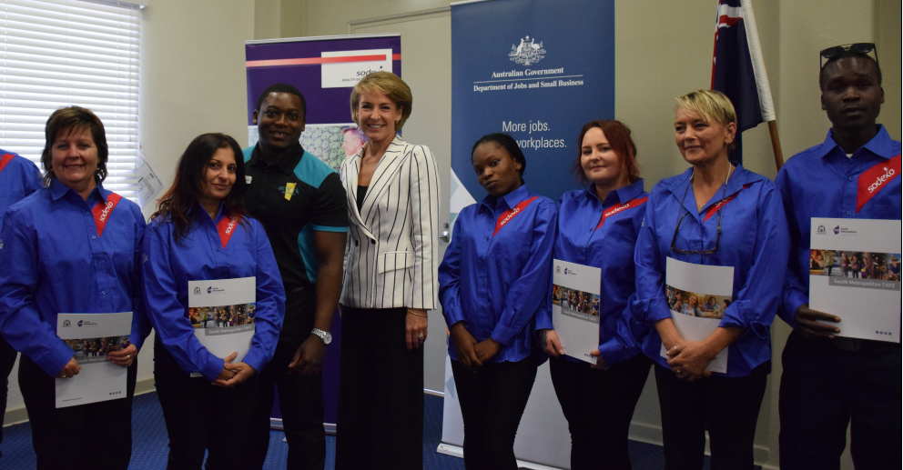 Minister for Jobs and Innovation joins atWork Australia Trainee Graduation
