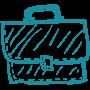 Briefcase-Teal