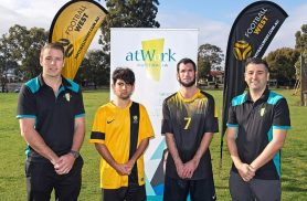 We are supporting Football West's All Abilities & Inclusion Program