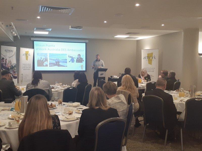 atWork Australia hosts DES speaker series in Tasmania