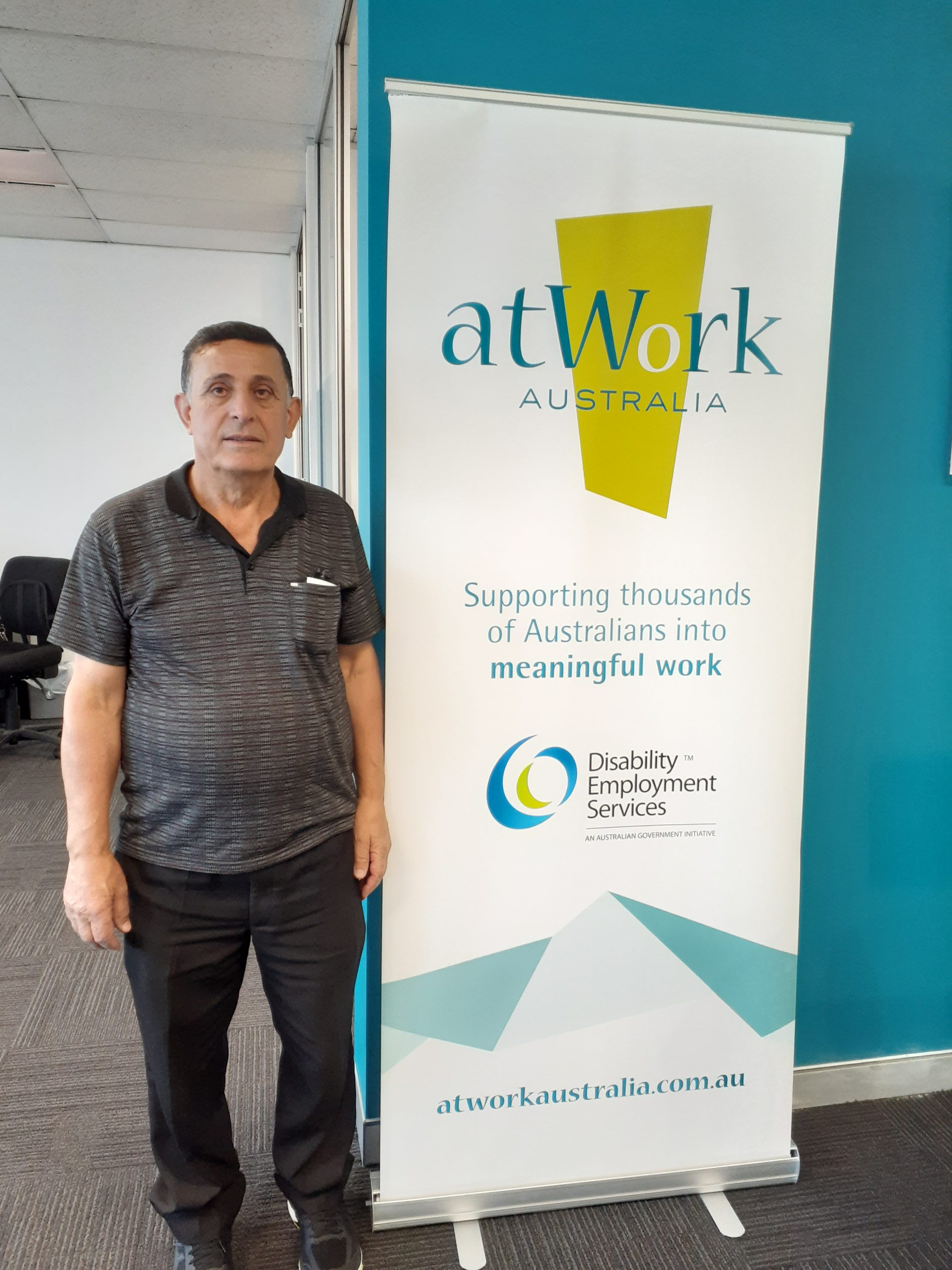 Ali sees a light at the end of the tunnel through employment