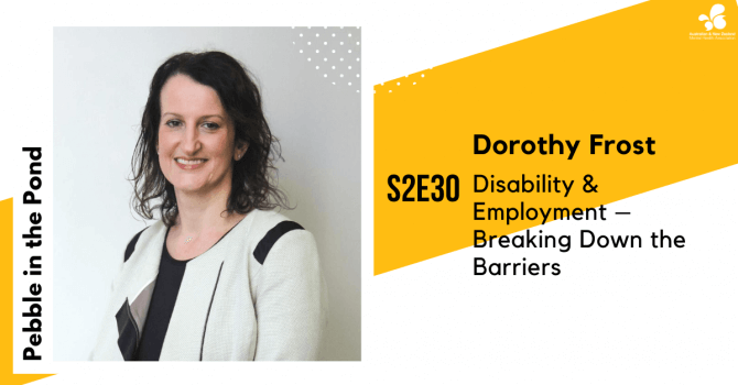 Dorothy Frost speaks about Breaking Down Barriers to Employment