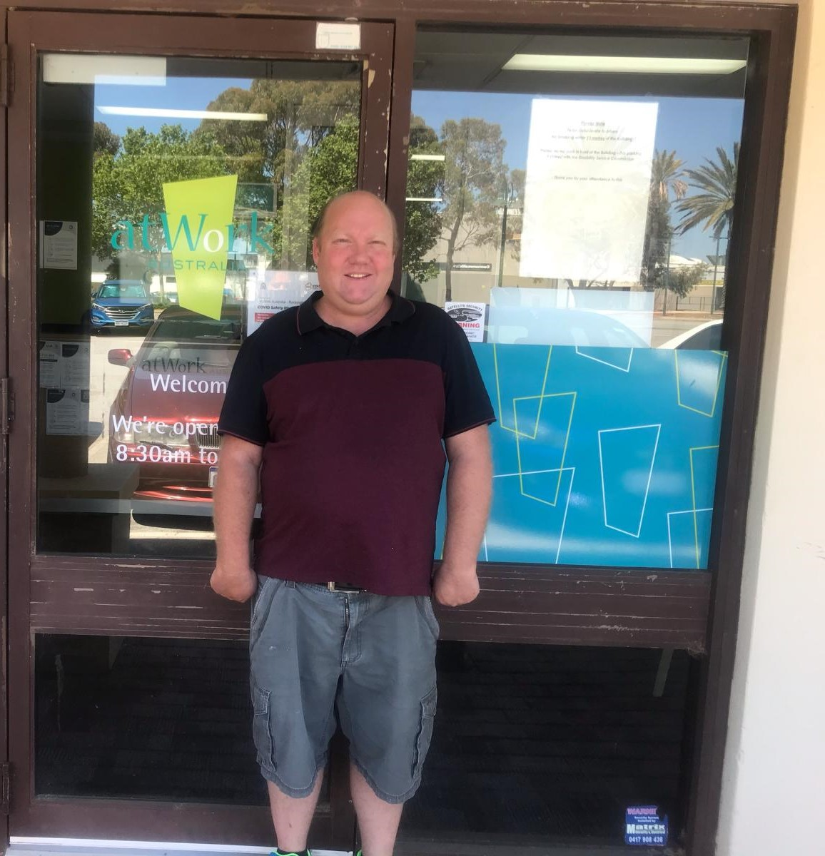 NDIS participant David spoilt for choice with job offers