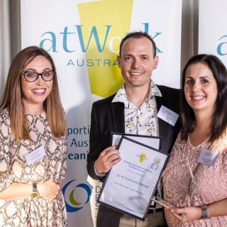 Winners of atWork Australia's 2020 WA DES Employer Awards announced