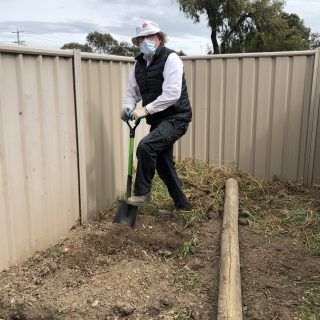 Ben finds his ideal job digging in the dirt