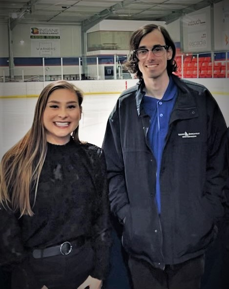 Connor's passion lands him a cool job at the rink