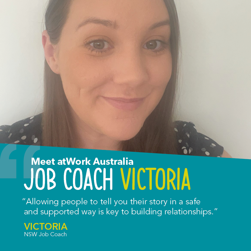 Victoria helps to bridge the gap for Indigenous clients in her region