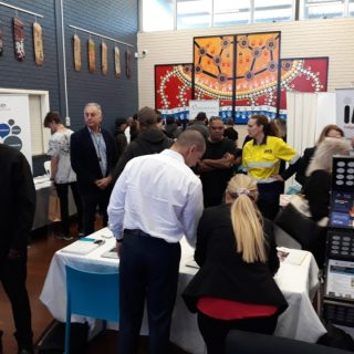 Hundreds of adolescents attended the Mandurah Youth Hub